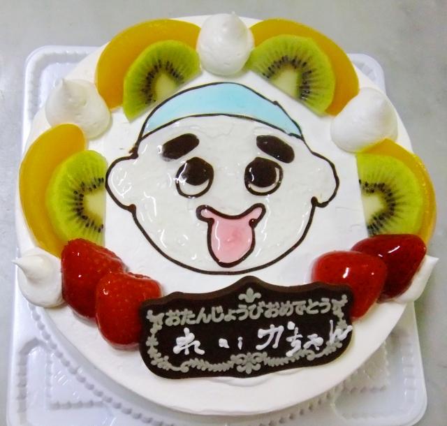 オーダーイラストケーキ